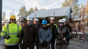 Bygger garasje for AG