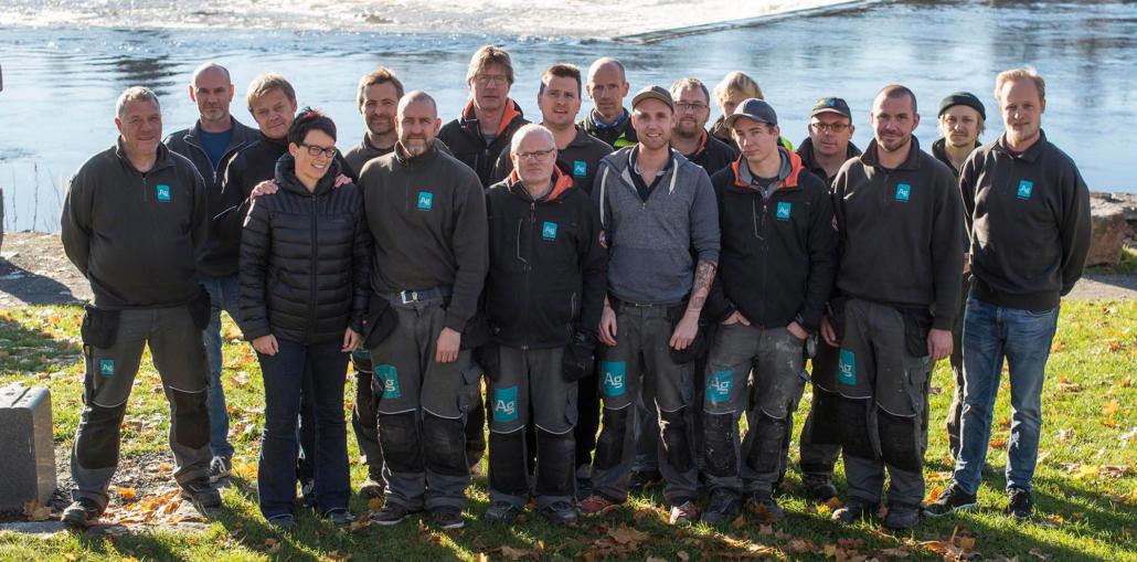 AG gruppen restaurerer Ruud-hytta
