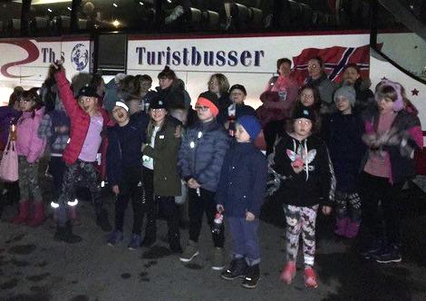 AG sponset busstur for VittingOss