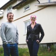 Ole Kristian Dyremyhr Kleven og Anette Fanitulla Trengen Apeland