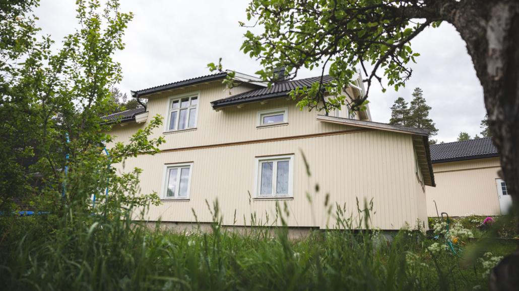 Ag restaurerte huset på Kongsgårdsmoen